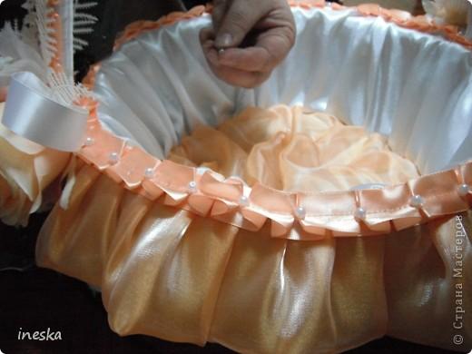 Мастер-класс Шитьё: Декор корзины для свадьбы для Лесной нимфы и  всем кому пригодится Свадьба. Фото 29