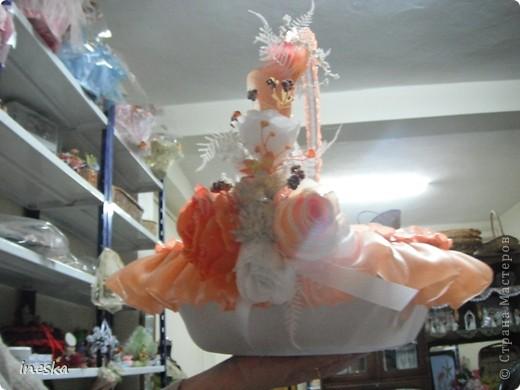 Мастер-класс Шитьё: Декор корзины для свадьбы для Лесной нимфы и  всем кому пригодится Свадьба. Фото 30