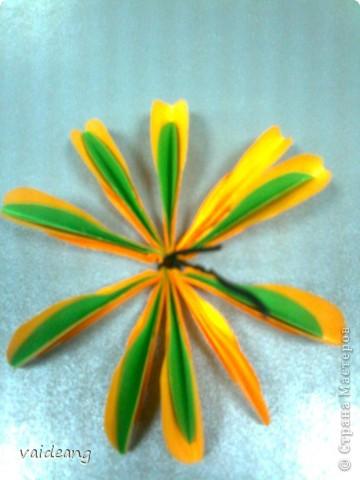 Мастер-класс,  Оригами, : Роза  Бумага 8 марта, . Фото 7