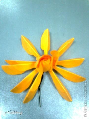 Мастер-класс,  Оригами, : Роза  Бумага 8 марта, . Фото 8