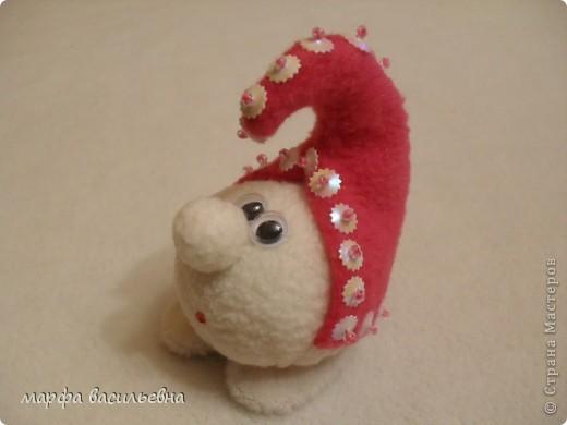Игрушка Шитьё: Новогодние снежки Ткань Новый год. Фото 2