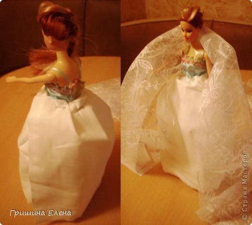 Мастер-класс, Свит-дизайн Моделирование: Кукла с конфетами...или конфеты с куклой? Бумага гофрированная, Кружево, Материал оберточный, Пенопласт, Продукты пищевые, Ткань День рождения. Фото 4