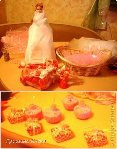 Мастер-класс, Свит-дизайн Моделирование: Кукла с конфетами...или конфеты с куклой? Бумага гофрированная, Кружево, Материал оберточный, Пенопласт, Продукты пищевые, Ткань День рождения. Фото 6