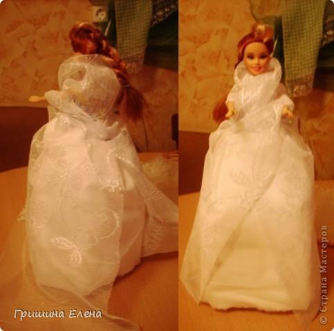 Мастер-класс, Свит-дизайн Моделирование: Кукла с конфетами...или конфеты с куклой? Бумага гофрированная, Кружево, Материал оберточный, Пенопласт, Продукты пищевые, Ткань День рождения. Фото 5