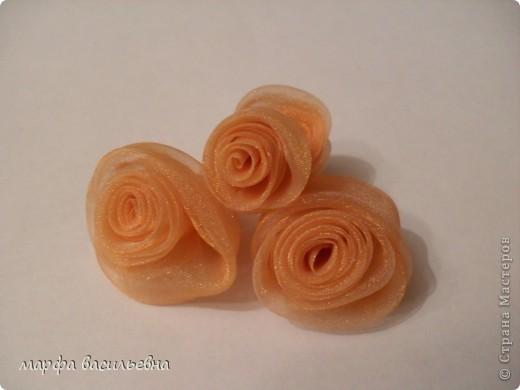 Мастер-класс,  Шитьё, : Делаем розочки из ткани. Ткань . Фото 7