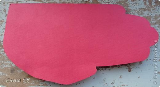 Открытка Киригами, pop-up: Сердце в руках Бумага Валентинов день, Свадьба. Фото 4