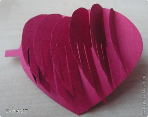 Мастер-класс Киригами, pop-up: МК Сердце в руках Бумага Валентинов день, Свадьба. Фото 22