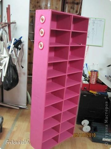 Декор предметов: Новая жизнь выброшенного шкафа.  Фото 22.
