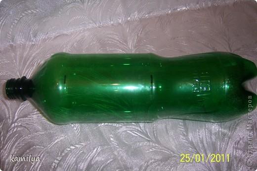 Мастер-класс,  Моделирование, : Еще одна шкатулка-сундучок Бутылки, Материал бросовый, Нитки Отдых, . Фото 4