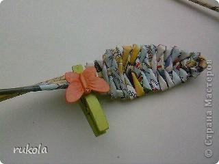 Вот наплелось вчера вечерком))) Цветочки в подарок!!! Подумываю над вазой,в эту приютила временно ;). Фото 23