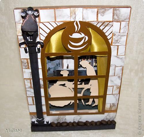 Открытка, Поделка, изделие Ассамбляж, Бумагопластика, Бумажный туннель, Кусудама: Ода кофе Бумага. Фото 13