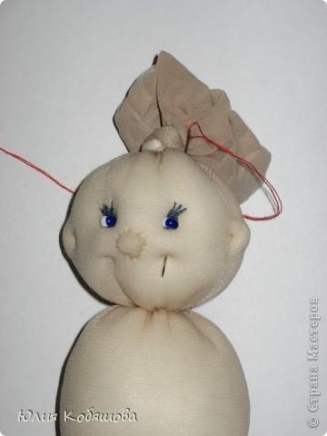 Куклы, Мастер-класс Вязание крючком, Шитьё: Моя куколка из капронового...