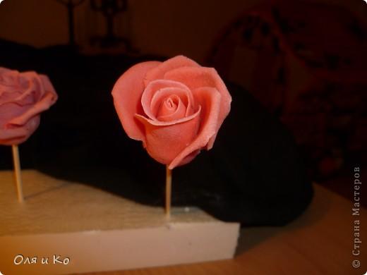 Мастер-класс,  Лепка, : Лепим соленую розу. Продолжение Тесто соленое 8 марта, . Фото 21