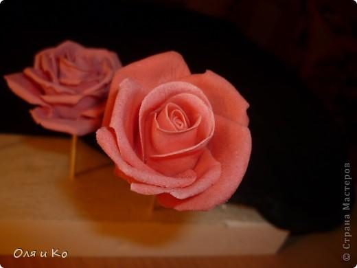 Мастер-класс,  Лепка, : Лепим соленую розу. Продолжение Тесто соленое 8 марта, . Фото 23