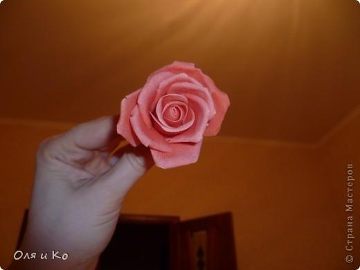 Мастер-класс,  Лепка, : Лепим соленую розу. Продолжение Тесто соленое 8 марта, . Фото 31