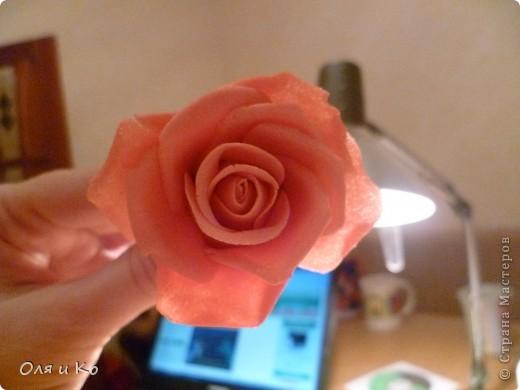 Мастер-класс,  Лепка, : Лепим соленую розу. Продолжение Тесто соленое 8 марта, . Фото 32