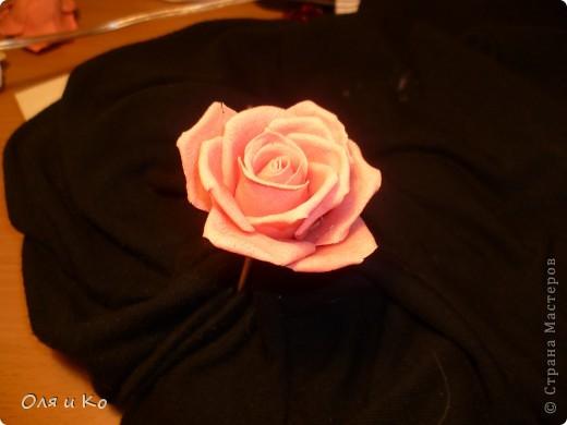 Мастер-класс,  Лепка, : Лепим соленую розу. Продолжение Тесто соленое 8 марта, . Фото 34