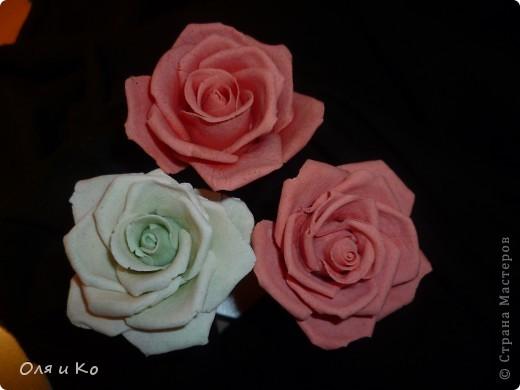 Мастер-класс,  Лепка, : Лепим соленую розу. Продолжение Тесто соленое 8 марта, . Фото 1