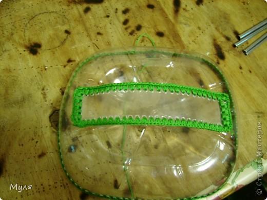 Мастер-класс,  Вязание крючком, : Контейнер для мелочей и косметичка. Нитки . Фото 8