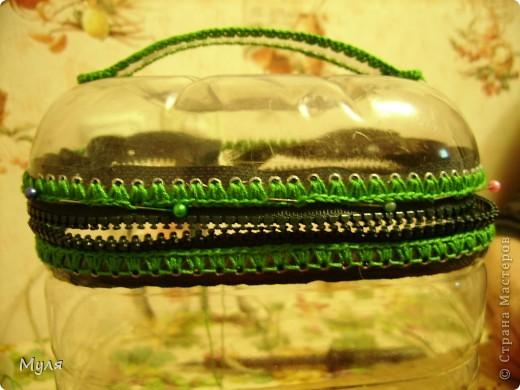 Мастер-класс,  Вязание крючком, : Контейнер для мелочей и косметичка. Нитки . Фото 9