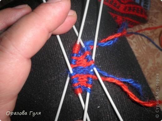 Мастер-класс Вязание: Яркие носки с орнаментом. Нитки. Фото 7