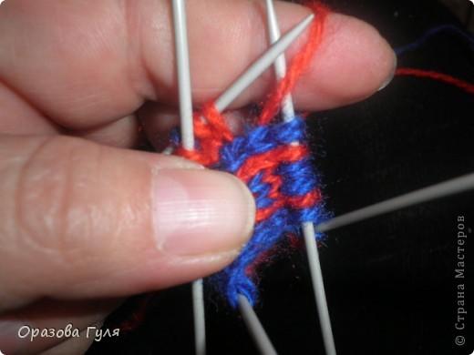 Мастер-класс Вязание: Яркие носки с орнаментом. Нитки. Фото 8