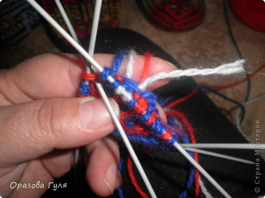 Мастер-класс Вязание: Яркие носки с орнаментом. Нитки. Фото 10