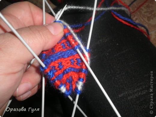 Мастер-класс Вязание: Яркие носки с орнаментом. Нитки. Фото 11