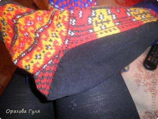 Мастер-класс Вязание: Яркие носки с орнаментом. Нитки. Фото 22