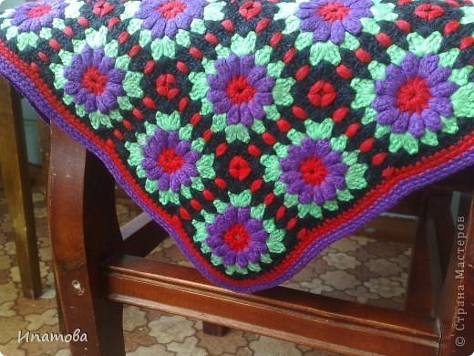 Бечевка Вязание крючком накидки на диваны