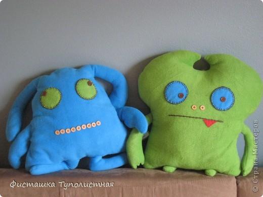 Куклы,  Шитьё, : Игрушки-подушки-страшилки  Ткань