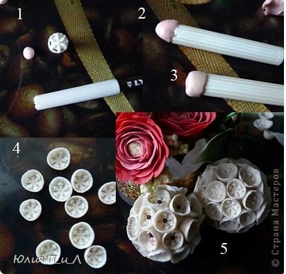 Мастер-класс, Материалы и инструменты, Поделка, изделие Лепка: Бугенвиллия...+ (холодный фарфор  - МК) Фарфор холодный. Фото 8