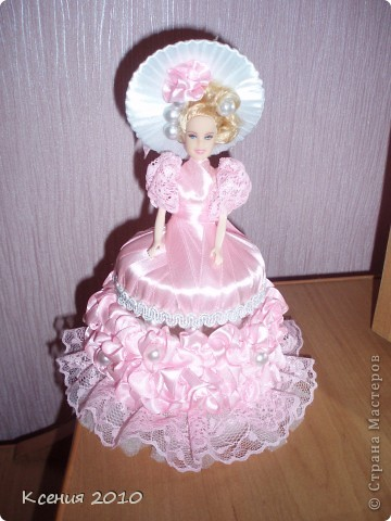 Поделка, изделие Моделирование: подарок  для  принцессы Ленты День рождения. Фото 2