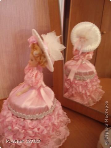 Поделка, изделие Моделирование: подарок  для  принцессы Ленты День рождения. Фото 3