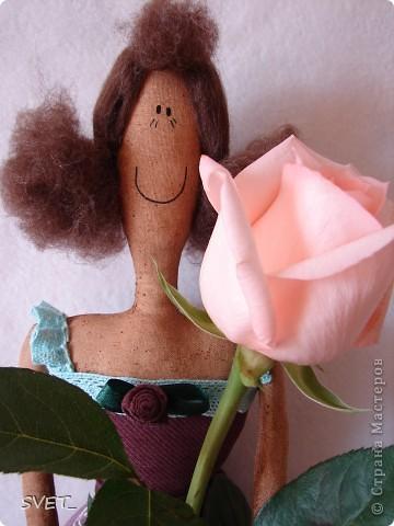 Куклы Шитьё: СЧАСТЛИВАЯ МАЙЯ!!!!! Ткань. Фото 1