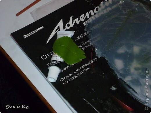 Мастер-класс, Материалы и инструменты,  Лепка, : Листочки розы из соленого теста Тесто соленое 8 марта, . Фото 24