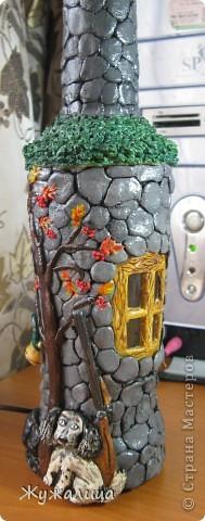 Декор предметов, Лепка, : Домик охотника. Тесто соленое . Фото 1