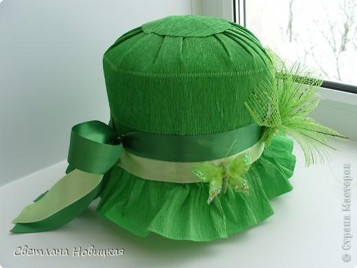 Как сделать гофрированную шляпу