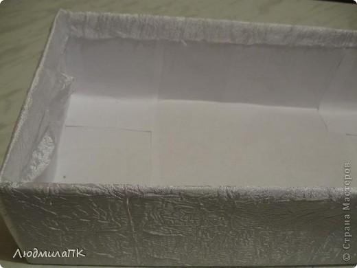 Декор предметов, Мастер-класс: Оформление коробки для подарочного набора МК Бусинки, Коробки, Ткань День рождения, Свадьба. Фото 10