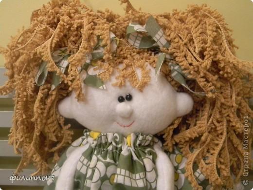 Куклы Шитьё: куклы Ткань 8 марта. Фото 1