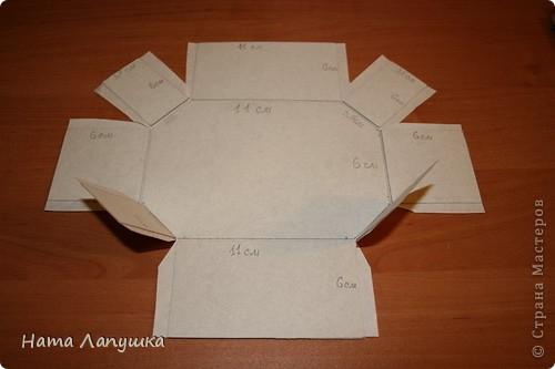 Мастер-класс,   : МК Шкатулка из шпажек