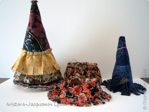 Куклы, Мастер-класс Шитьё: Петушок Вата, Мешковина, Нитки, Ткань. Фото 2