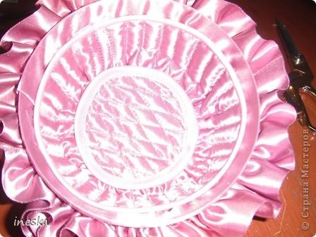 """Мастер-класс, Поделка, изделие Шитьё: Мои шкатулки из пластиковой  посуды  """"Розовая нежность"""" 8 марта, Валентинов день, День  матери, День рождения. Фото 21"""