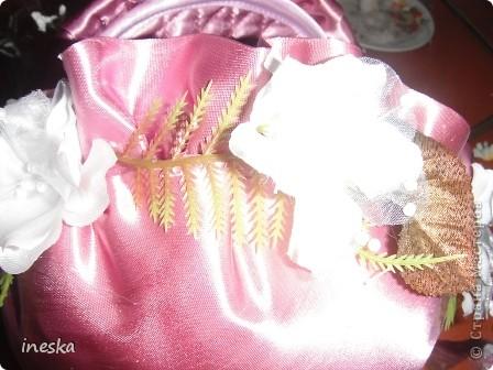 """Мастер-класс, Поделка, изделие Шитьё: Мои шкатулки из пластиковой  посуды  """"Розовая нежность"""" 8 марта, Валентинов день, День  матери, День рождения. Фото 22"""