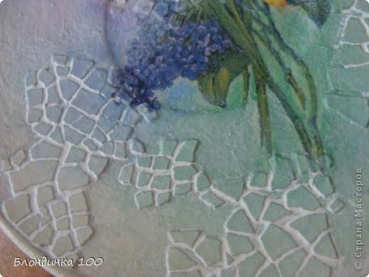 Декор предметов, Мастер-класс,  Декупаж, : ... Краска, Салфетки, Скорлупа яичная . Фото 10