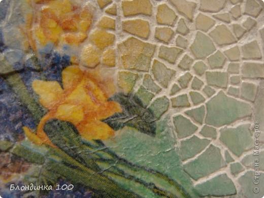 Декор предметов, Мастер-класс,  Декупаж, : ... Краска, Салфетки, Скорлупа яичная . Фото 13