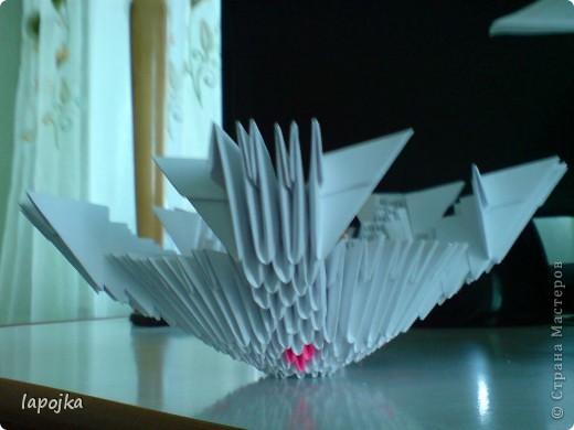 Мастер-класс Оригами модульное: Ваза с бабочками Бумага. Фото 11