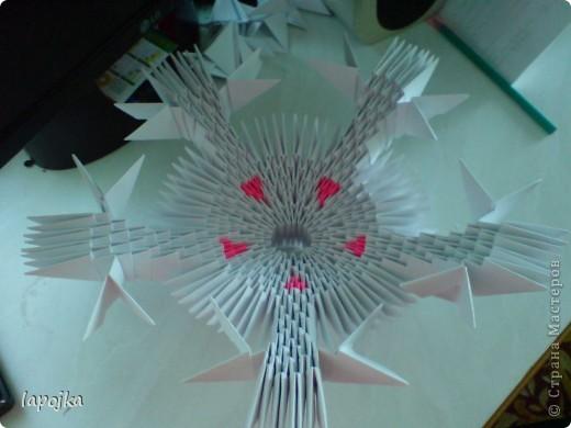Мастер-класс Оригами модульное: Ваза с бабочками Бумага. Фото 12