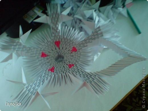 Мастер-класс Оригами модульное: Ваза с бабочками Бумага. Фото 14