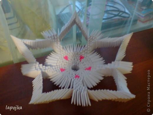 Мастер-класс Оригами модульное: Ваза с бабочками Бумага. Фото 15
